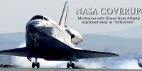 NASA Coverup: UFOs In Formation Buzz Shuttle Atlantis