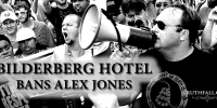 "Bilderberg Hotel ""Westfield Marriot"" Bans Alex Jones"