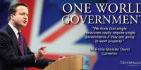Cameron: We Need One Single Govt