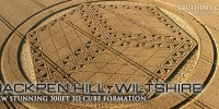 Geometrically Perfect 300 Foot Crop Circle: Hackpen Hill