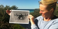 Aerial Drones To Patrol Beaches