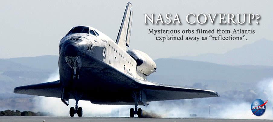 NASA Coverup: UFOs In Formation Buzz Shuttle Atlantis ...