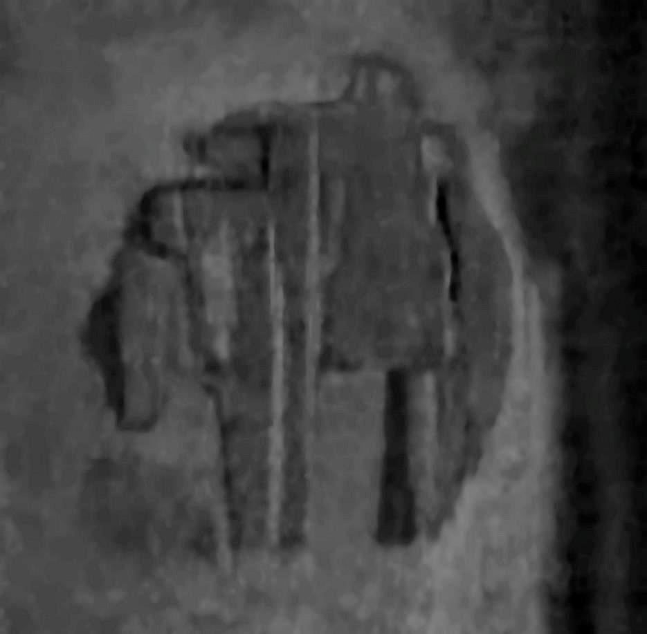 Cleaned up and enhanced image of the Baltic anomaly
