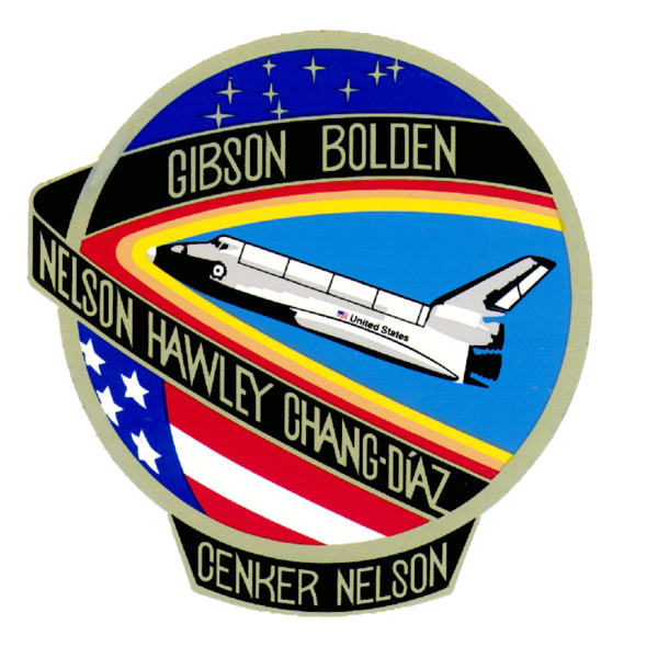 NASA Mission STS-61-C mission patch.