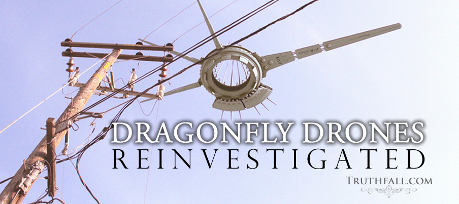 Exclusive Dragonfly Drone Witness Mufon Isaac Real Prometheus