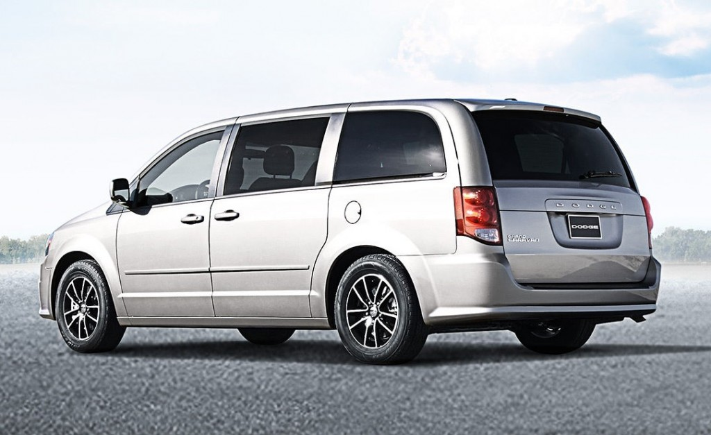 A Dodge Grand Caravan - 5.15 metres long